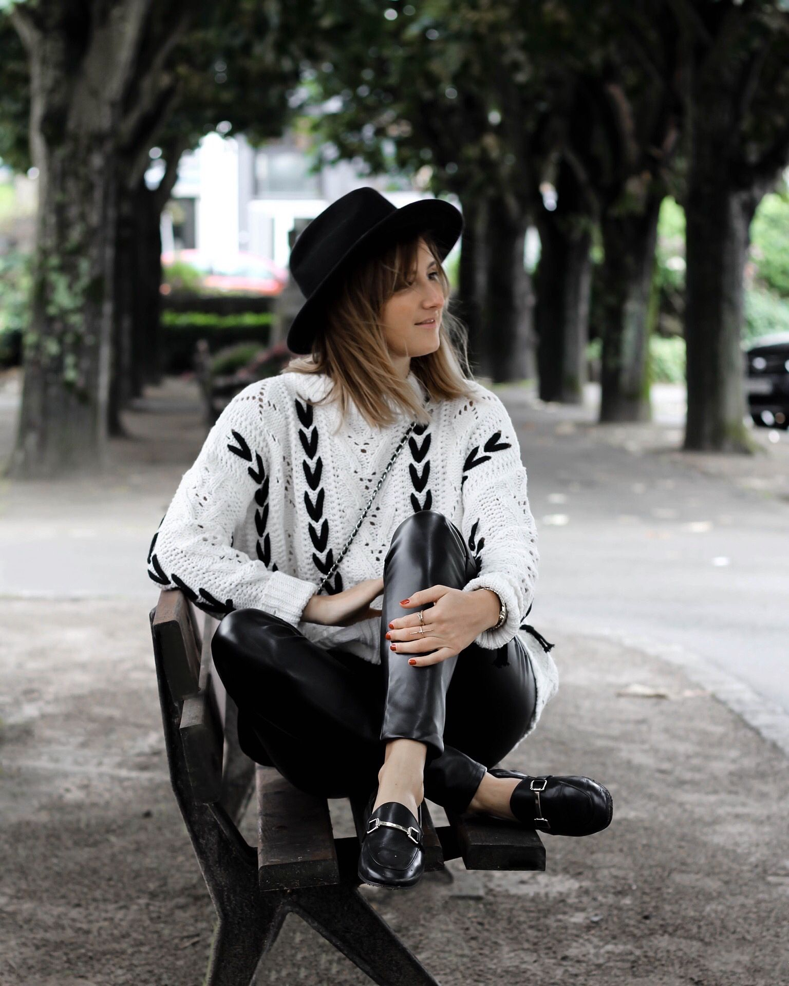 Jonak Girls Floriane Lt Is Wearing Our Sempre Loafers In Black