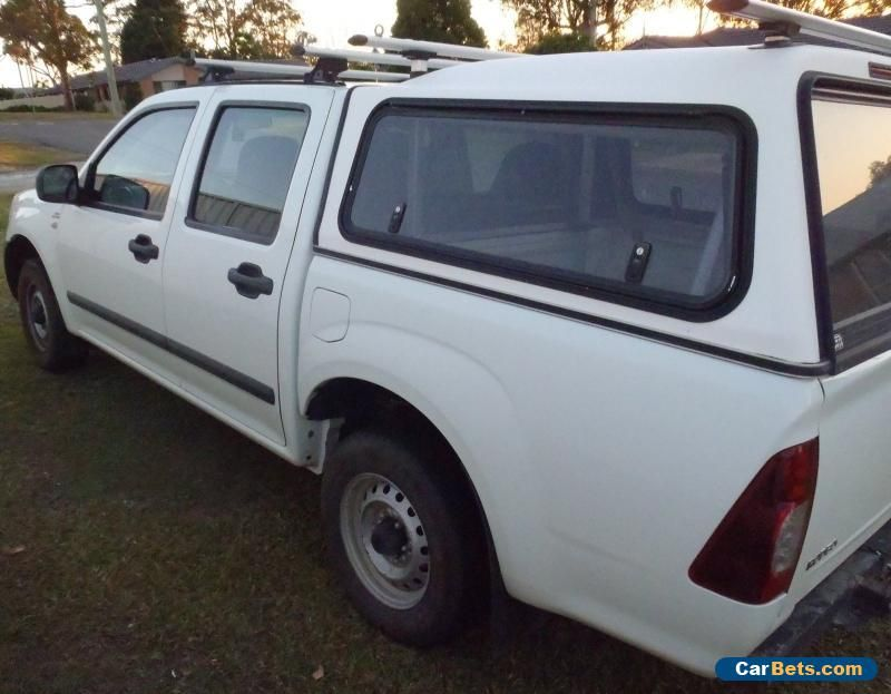2007 Holden Rodeo Lx Crew Cab Ute Diesal With Roof Racks Canpoy And Tow Bar Holden Rodeo Forsale Australia Holden Rodeo Cars For Sale Motorcycles For Sale