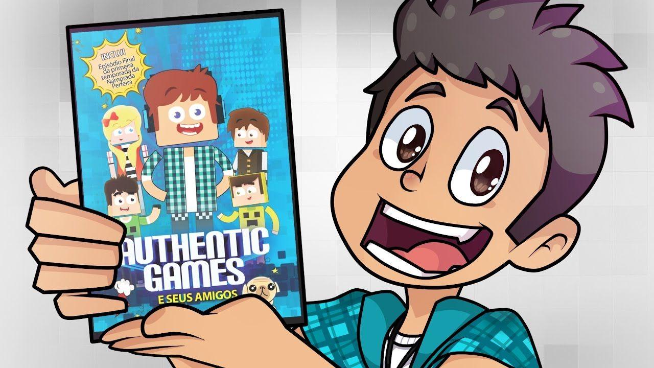 Desenho Animado Authenticgames Com Imagens Desenho Animado