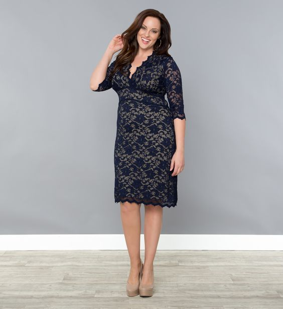 plus size dress liner & elsen | beautiful dresses | pinterest