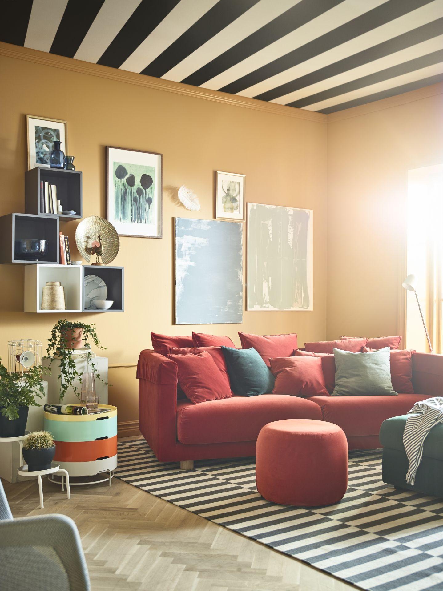 Stockholm 2017 poef ikea ikeanl ikeanederland slaapkamer for Kamer interieur inspiratie