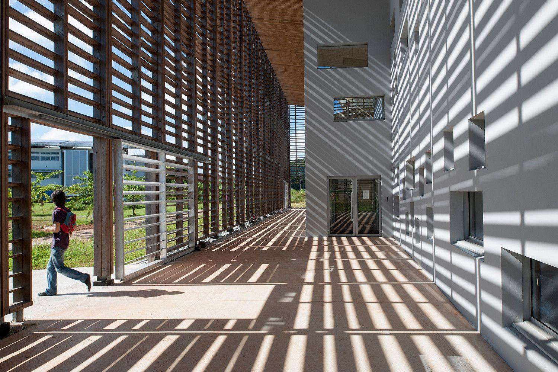 Galeria de Nova Biblioteca Universitária em Cayenne / rh+ architecture - 2