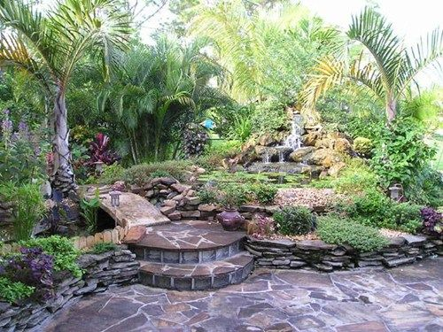 Tropical Backyard Oasis Pacific Sunscapes San Diego CA Cali Best Backyard Design San Diego