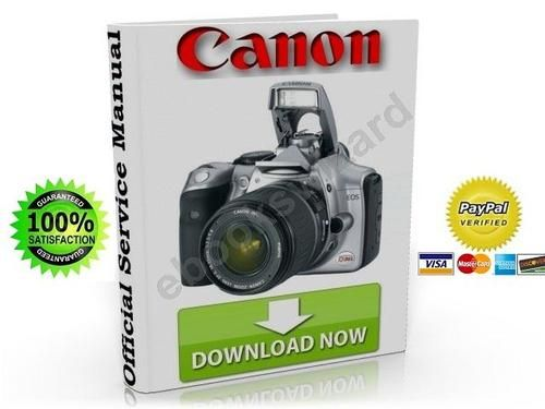 canon eos 300d digital slr service repair manual other manuals rh pinterest com Canon Rebel 300D Lens Canon 300 DG Bag