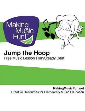 Jump the Hoop (Steady Beat) Free Music Lesson Plan Objective - music lesson plan