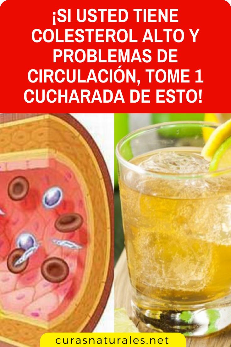 remedio contra el colesterol alto