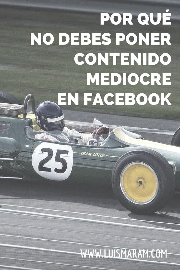 Por qué NO debes poner contenido mediocre en Facebook - Las marcas pueden causarse un daño enorme a sí mismas cada vez que publican basura o contenido demasiado promocional. Se dañan a corto y largo plazo.