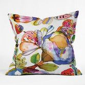 Found it at Wayfair - <strong>DENY Designs</strong> CayenaBlanca Blossom Pastel Throw Pillow