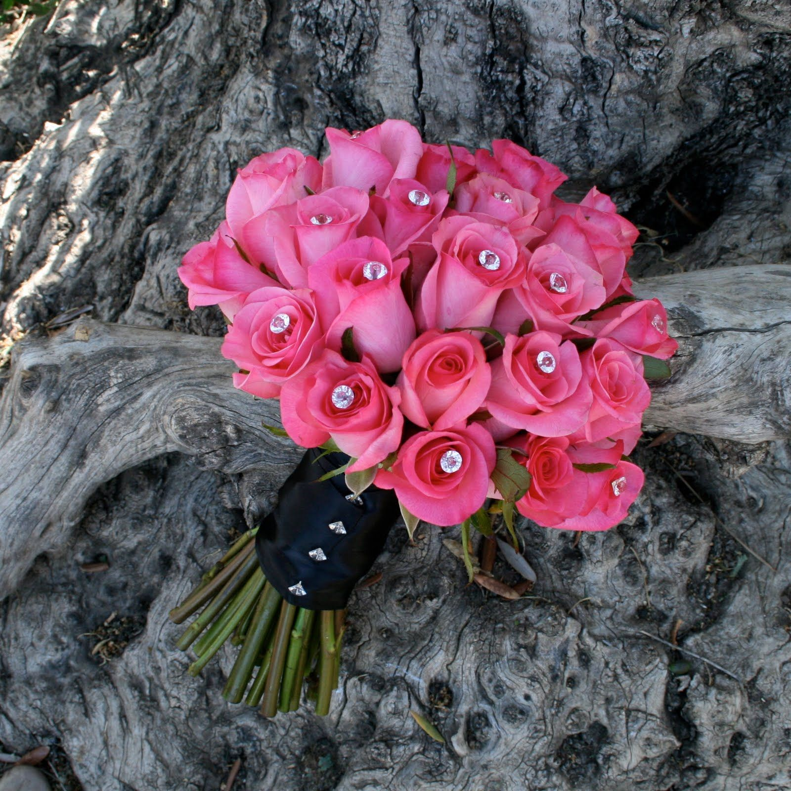 hot pink and black wedding decorations - Google Search   wedding for ...