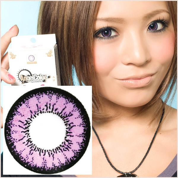 Violet & Purple Contacts | Violet/Purple Colored Contacts ...