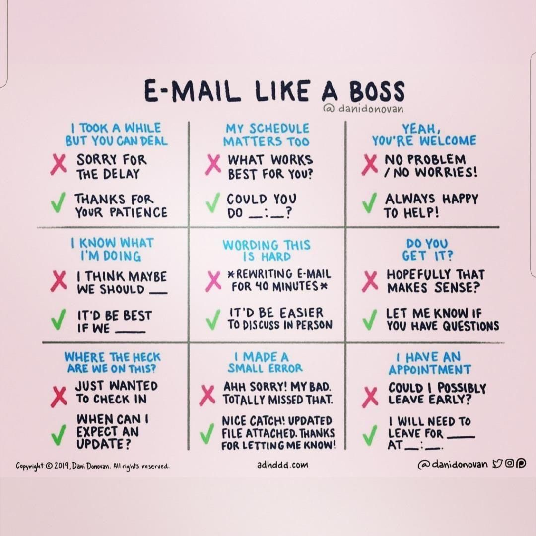 Email Like A Boss tips and tricks for email etiquette at