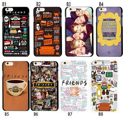 Friends Tv Collage Show Central Perk Soft TPU Case For iPhone 6S 7 ...