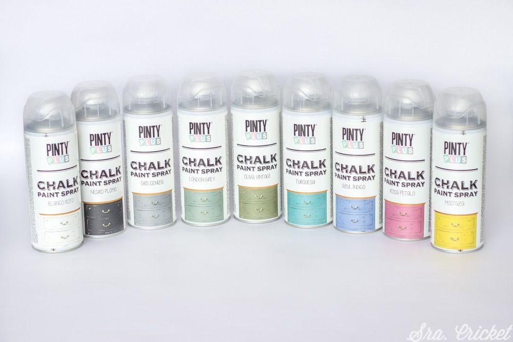 Pintura Chalk Paint Spray Para Manualidades Muebles Etc Pintura De Tiza En Spray Aerosoles Pintura A La Tiza