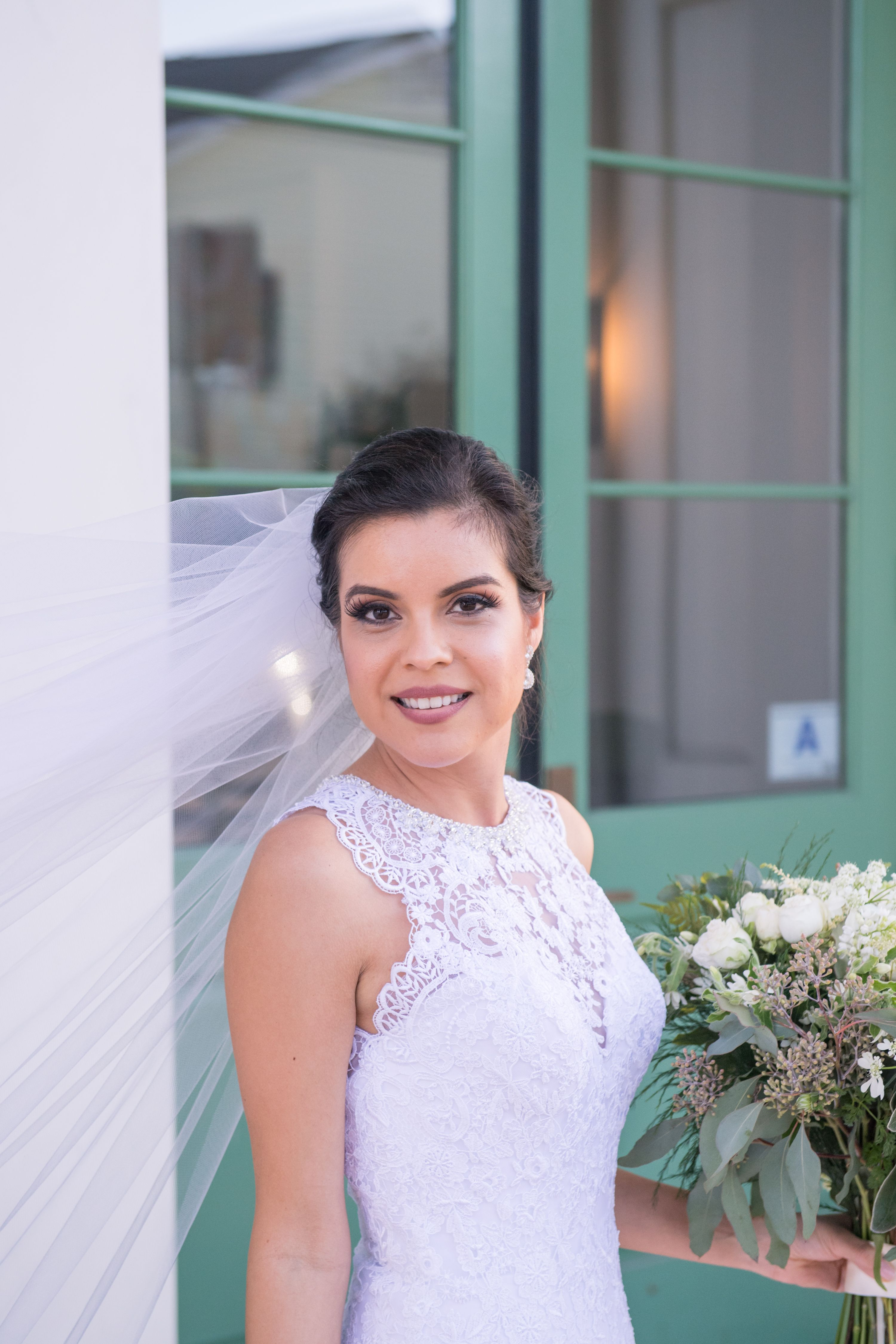 Charleston Wedding Bridal Makeup Airbrush Natural