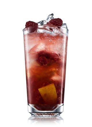 Absolut Raspberri Cobbler Recipe Recipes Cocktail Recipes