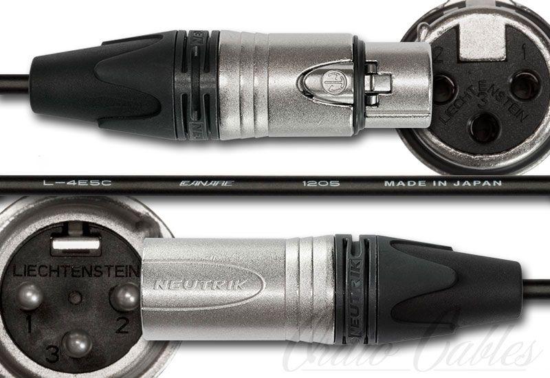 Canare L-4E5C Low Profile Microphone Cable