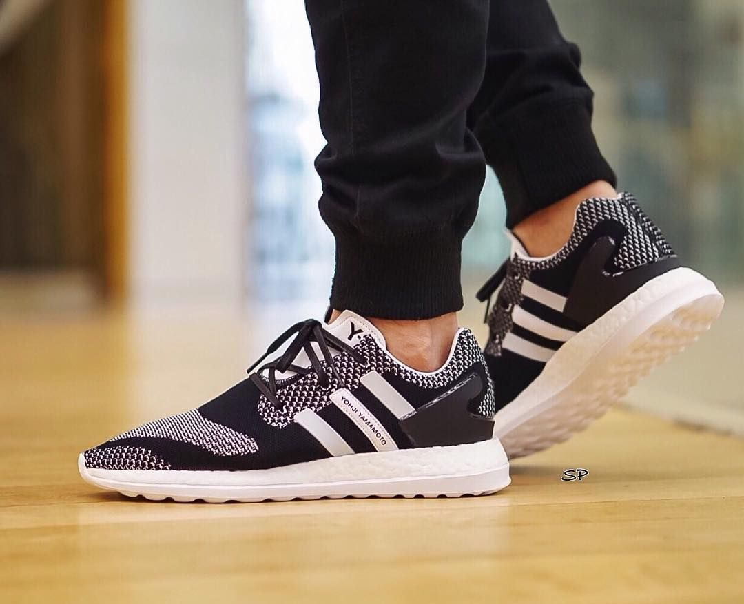 8eeee60508d3 Image result for Y3 Pure Boost ZG Knit Black White