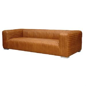 Brown Xl Leather Sofa