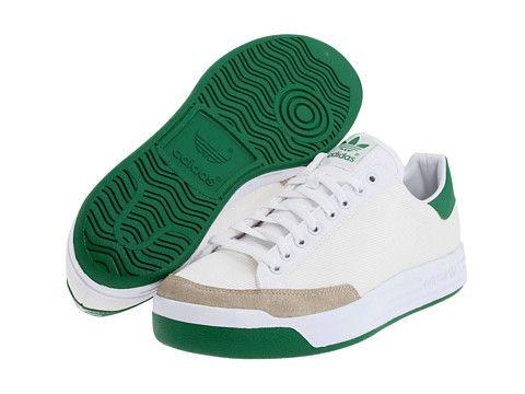 low priced 5d211 7147a adidas Originals Rod Laver White Green Nylon Mesh - Zappos.com Free Shipping  BOTH Ways