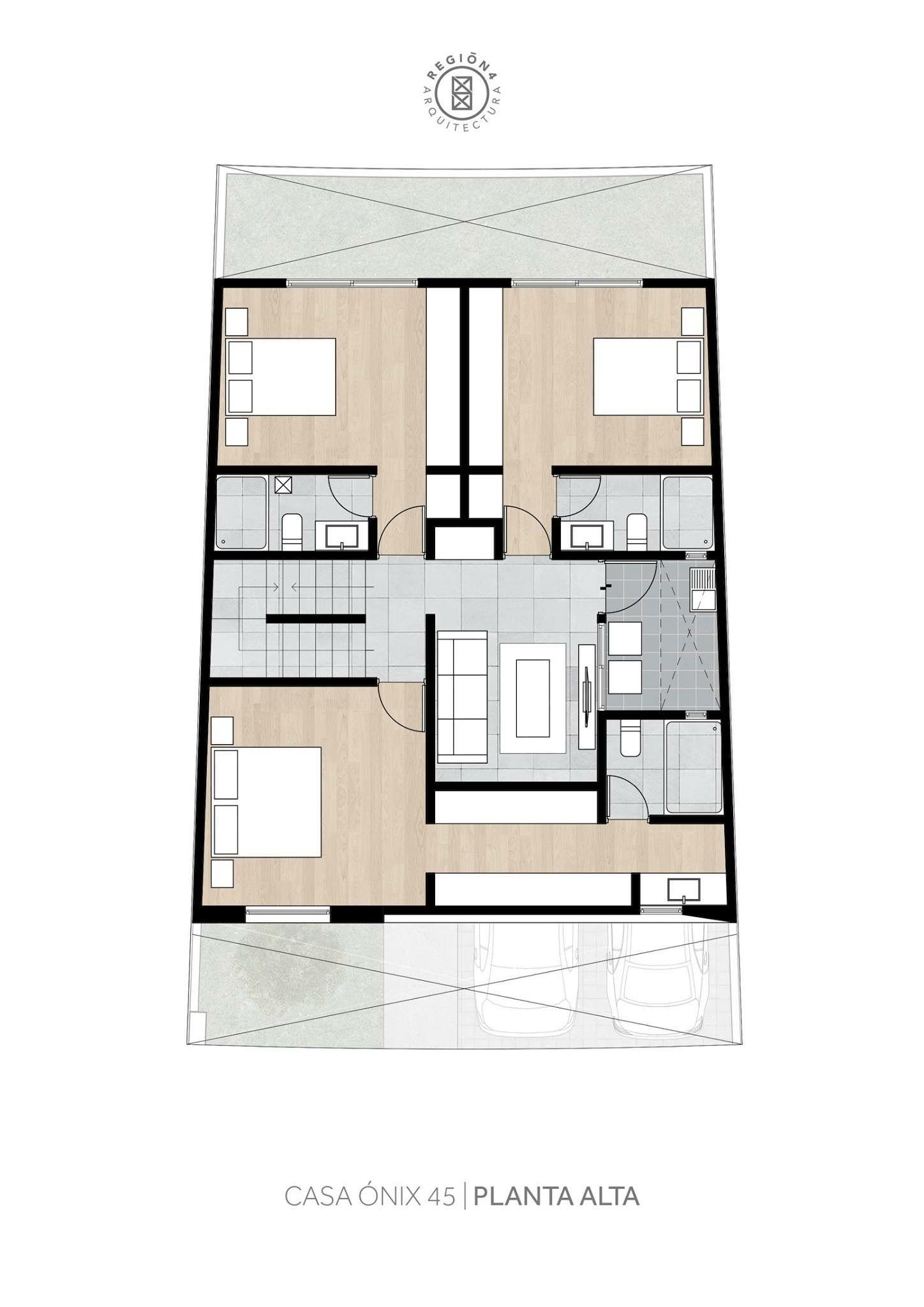 Pin de leandro cabrera en casas modernas pinterest for Planos para cocinas pequenas
