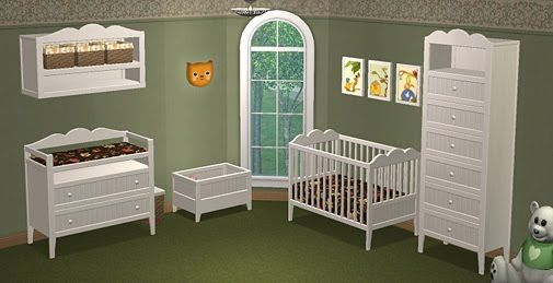 Hansen Nursery Sims 2 Play TS2 Baby & Children Sims