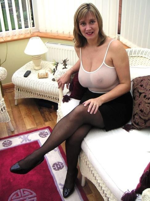 Mature and busty