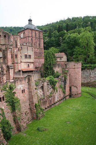 Schloss Heidelberg Deutschland Germany Castles Castle Beautiful Castles