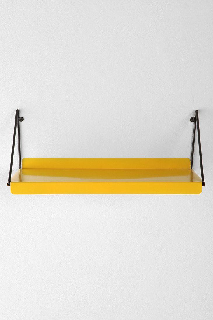 Yellow Metal Shelf - Urban Outfitters