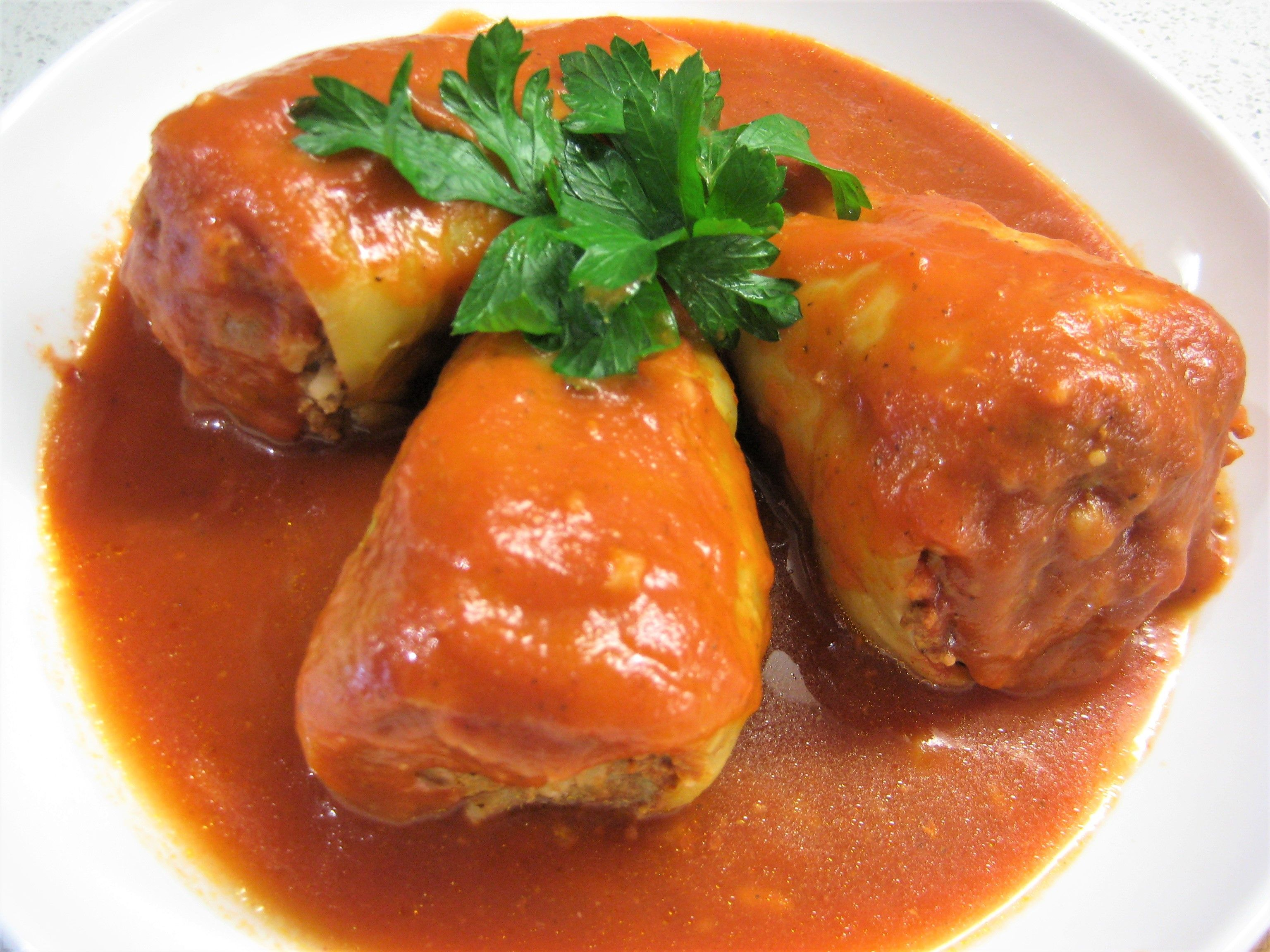 Hungarian Stuffed Peppers Toltottpaprika The Hungary Soul Recipe In 2020 Stuffed Peppers Hungarian Stuffed Peppers Hot Pepper Recipes