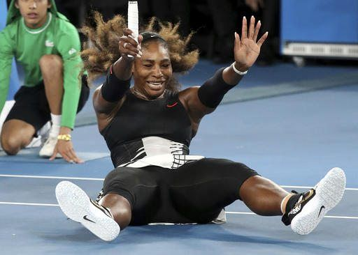 MELBOURNE, Australia (AP)(STL.News) — Serena Williams held up a Grand Slam winner's trophy for the 23rd time, celebrating her unrivaled place in history, and received a congratulatory letter and a pair of custom-made shoes from Michael Jordan, ...