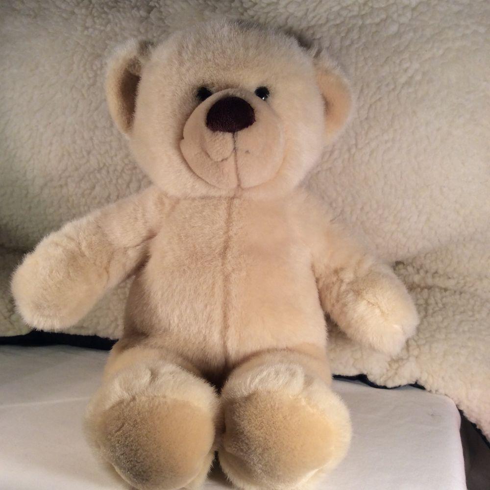 Build-A-Bear Workshop Brown Teddy Bear Plush Stuffed Animal