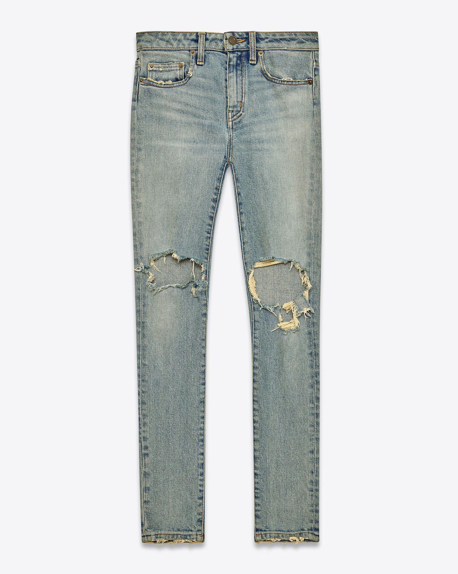 Jeans Saint Laurent: découvrez la sélection et commandez en ligne sur YSL.com