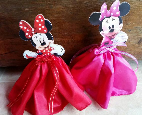Minnie Mouse centerpiece for birthdays. 7-8 por JennexPartySupply
