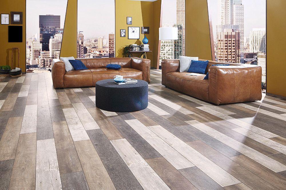 Floer sloophout laminaat vloer versleten planken donker