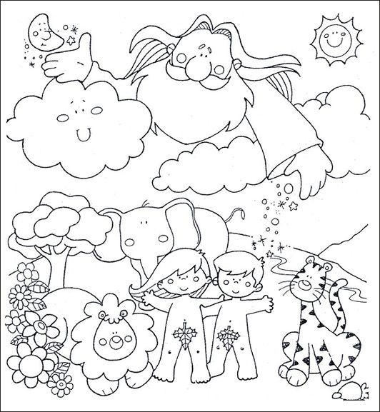 Me Aburre La Religión La Creación Para Preescolares