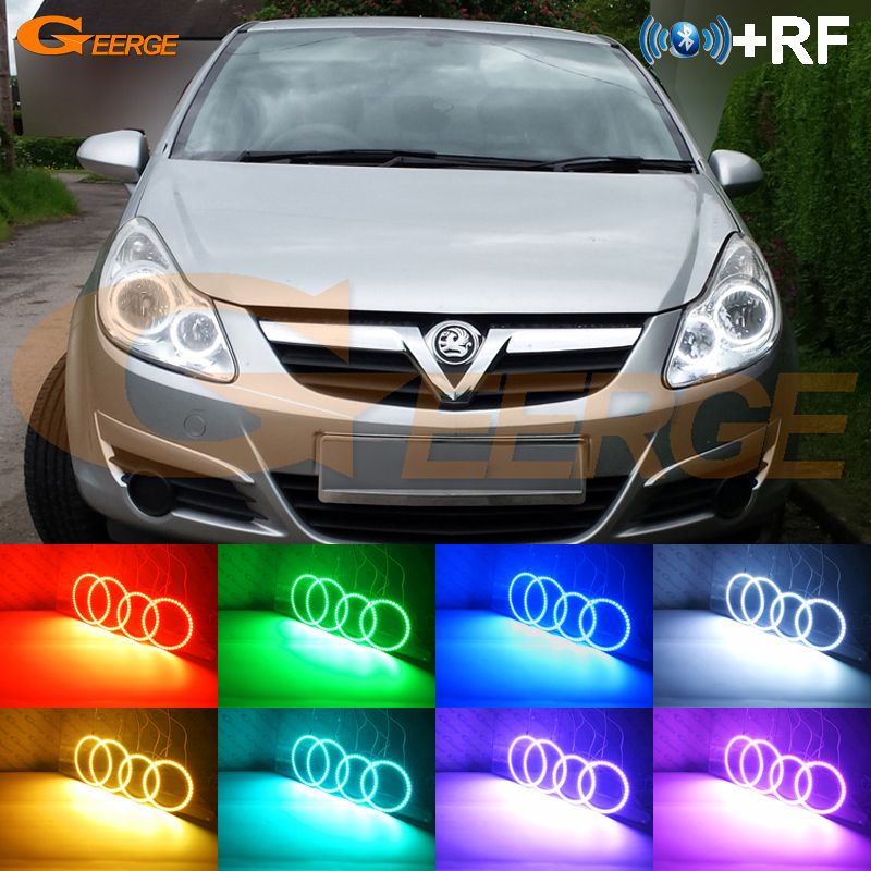 Cheap Kit Kits Buy Quality Kit Led Directly From China Kit D Suppliers For Opel Corsa D 2006 2007 2008 2009 2010 2011 Halogen Headlight Rf Bluetooth Controlle