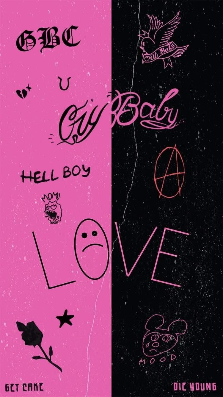 Lil Peep Aesthetic Computer Wallpaper Google Search In 2020 Lil Peep Lyrics Iphone Wallpaper Vintage Hipster Iphone Wallpaper Vintage