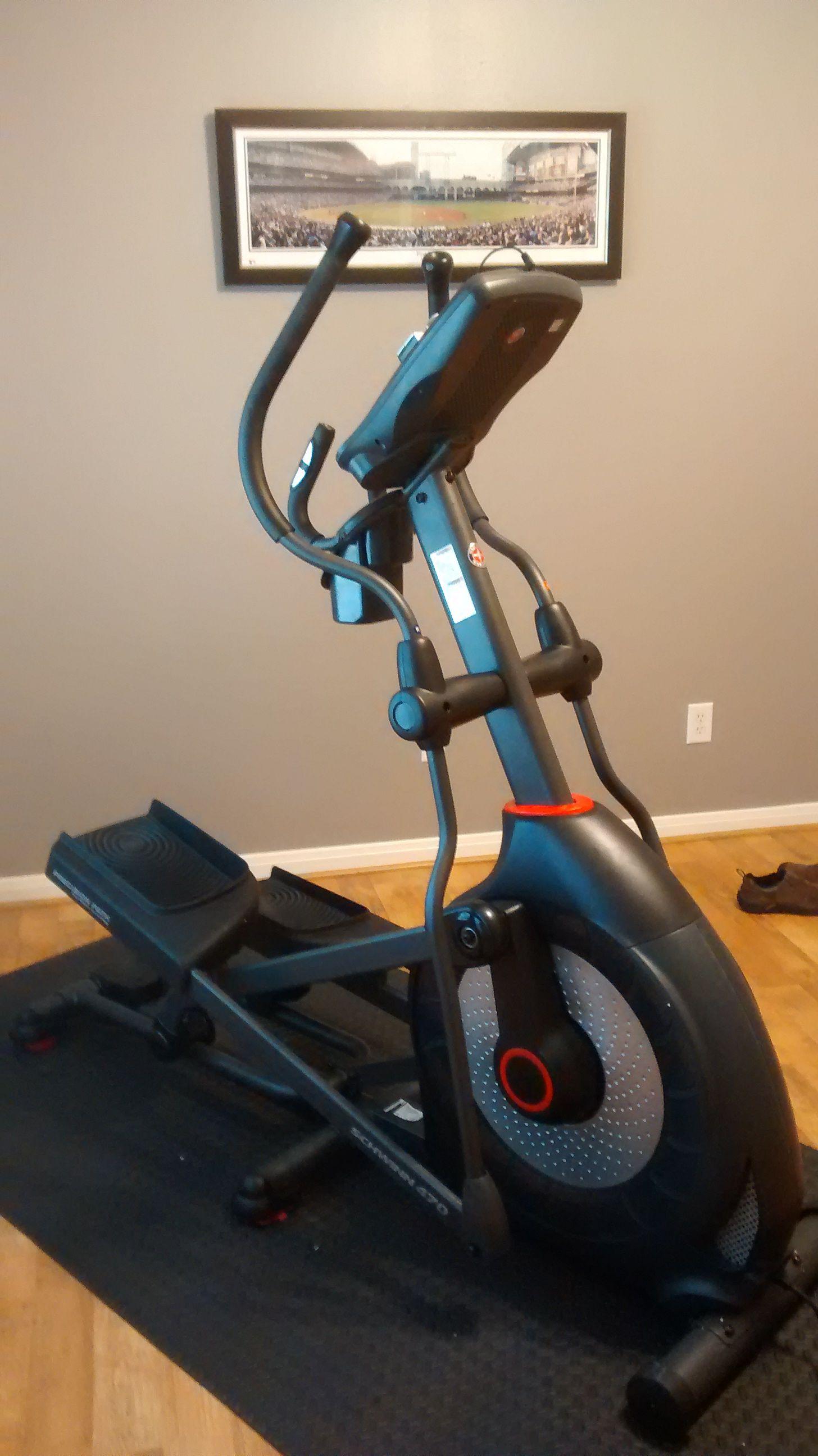 Schwinn Elliptical Assembled In Houston Texas Gymlife At Home Gym Gym Life No Equipment Workout