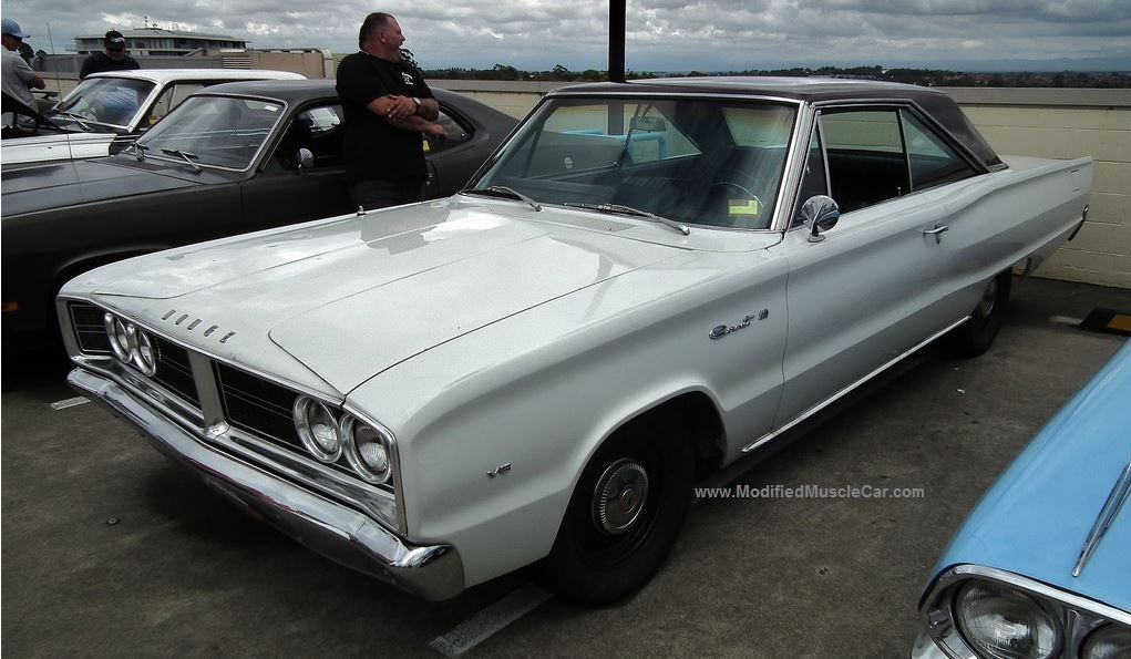 Modified Dodge Coronet 440 Coupe 1966 (5th generation)