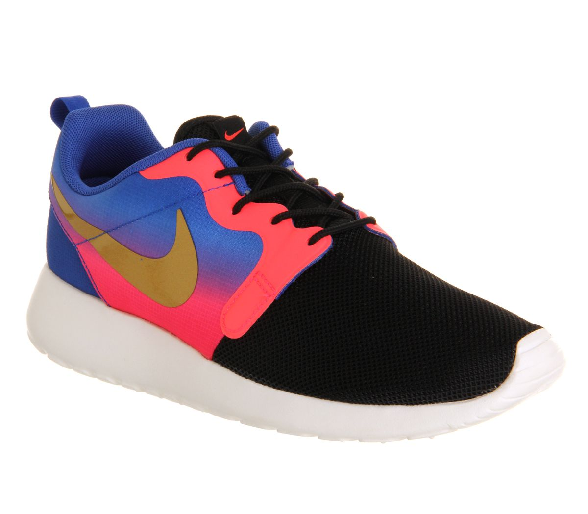 new concept b2516 bfde4 Nike Roshe Run Hyp Mercurial Black Gold Hyper Punch Jaquard Qs - Hers  trainers