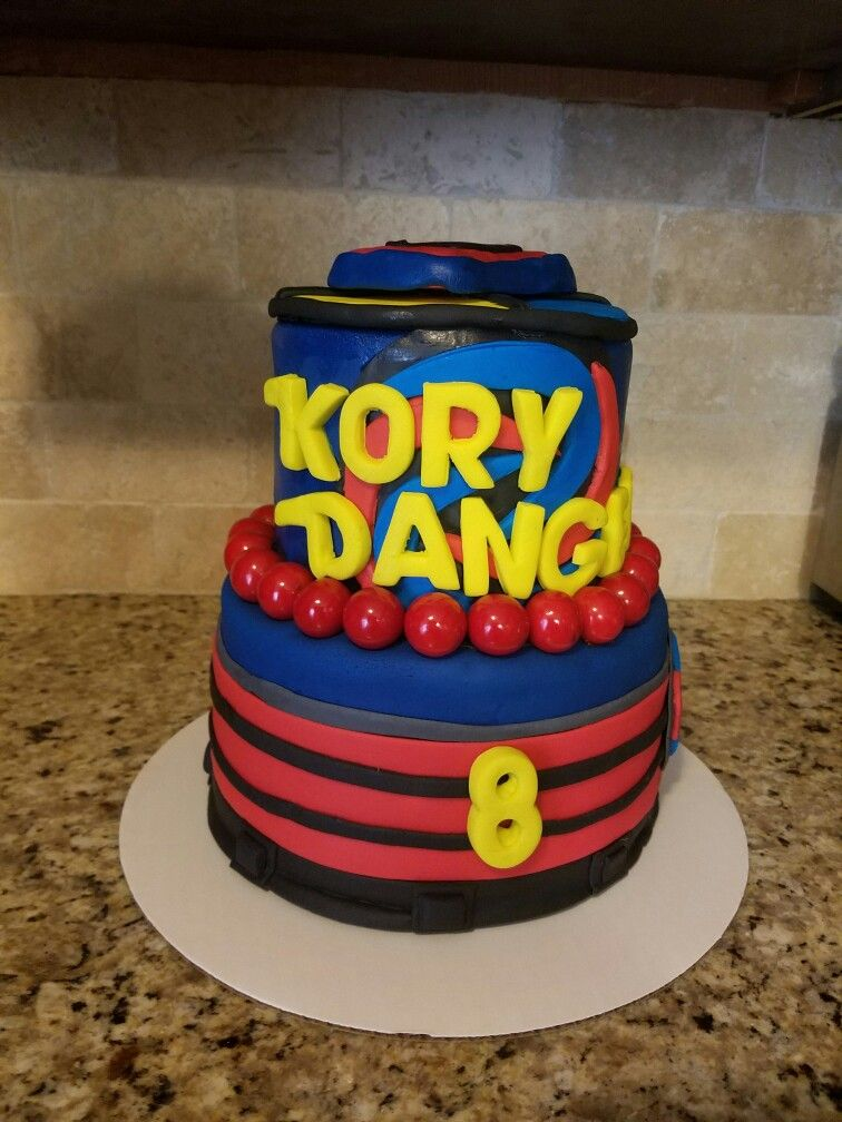 Henry Danger Cake I Love Baking In 2019 Birthday