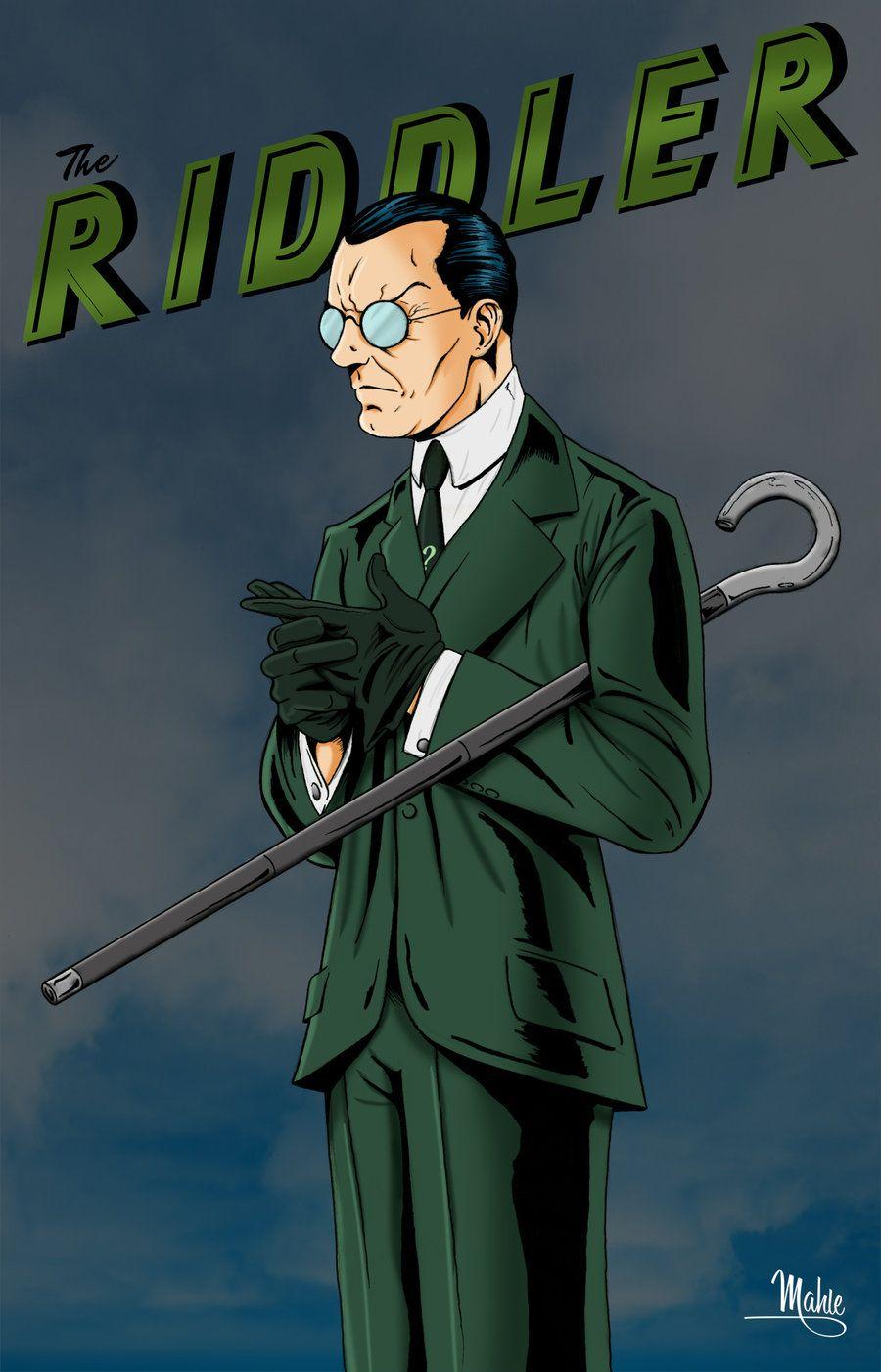 The Riddler by Gotham villains