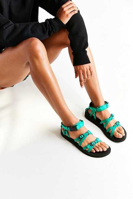 huge discount 65de3 677bb Teva Alp Teal Strap Sandals | To wear in 2019 | Schuhe damen ...
