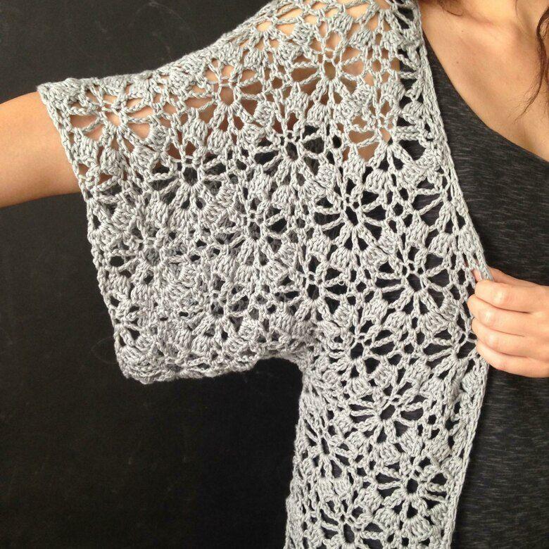 Boho Crochet Robe Crochet pattern by ElevenHandmade
