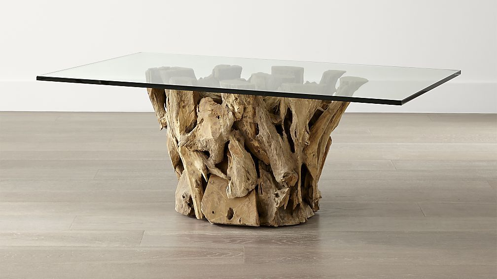 Driftwood Coffee Table Beach Chic Options Driftwood