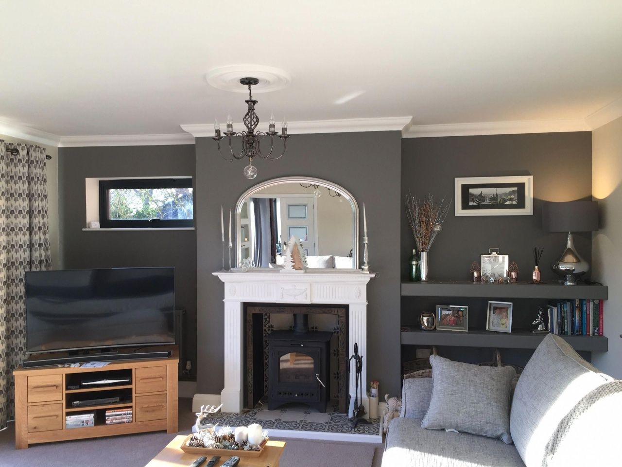 Small Living Room Ideas With Fireplace Cosy Living Room Small Living Rooms Living Room Grey