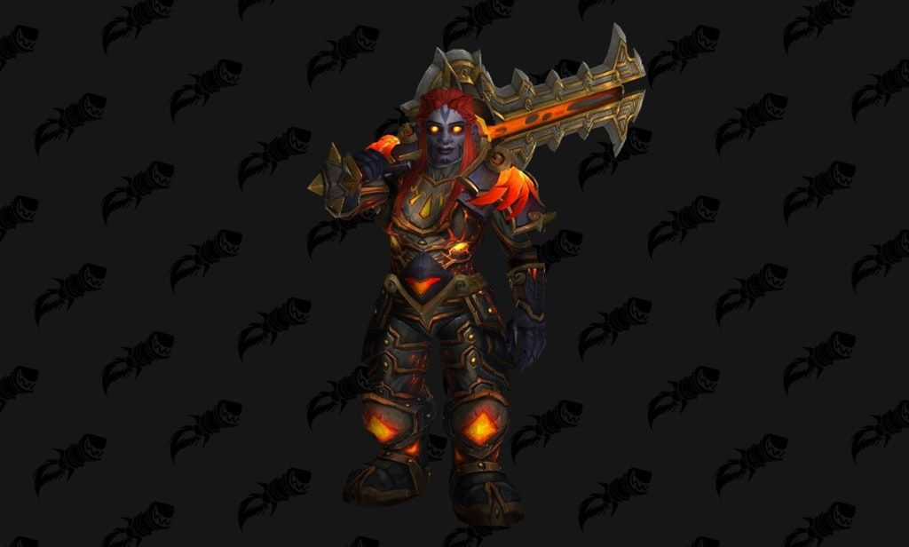 My First Attempt At A Dark Iron Warrior Transmog