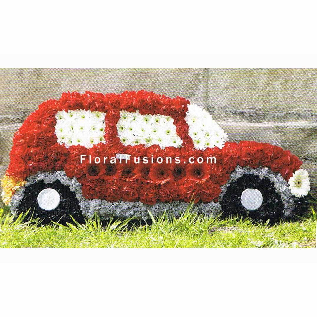 Car Funeral Flowers Leicester Floral Board Pinterest