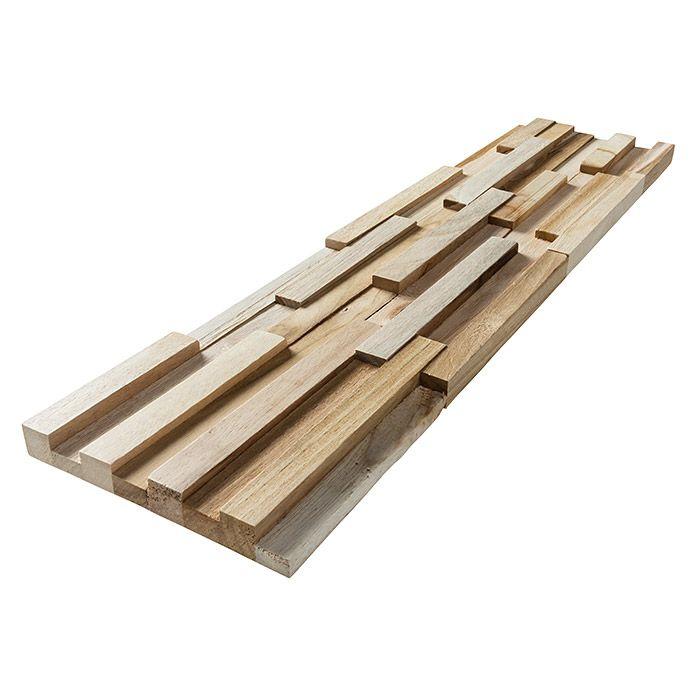Holzpaneele Fineline Teak 510 X 140 X 20 Mm 2 Paneele Holzpaneele Paneele Holzpaneele Wand