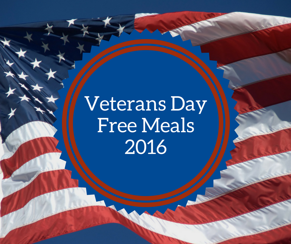 Restaurants Offering Free Meals This Veterans Day Free